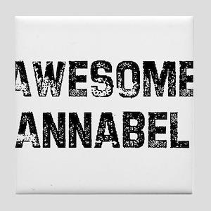 Awesome Annabel Tile Coaster