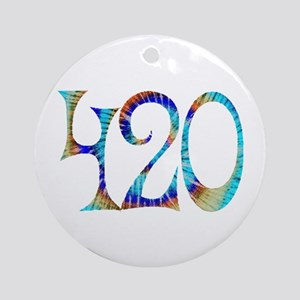 420 - #1 Ornament (Round)