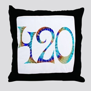 420 - #1 Throw Pillow