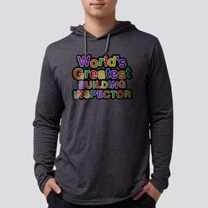Worlds Greatest BUILDING INSPECTOR Mens Hooded Shi