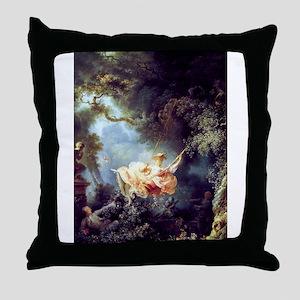 Fragonard The Swing Throw Pillow