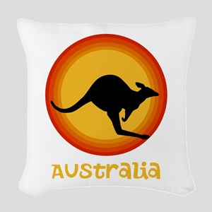 Australia Woven Throw Pillow