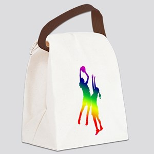 basketball 1 Canvas Lunch Bag