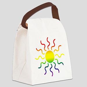 sun Canvas Lunch Bag