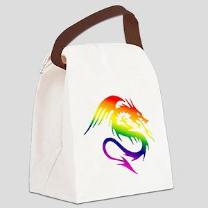dragon 1 Canvas Lunch Bag