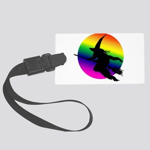 3-witch moon Large Luggage Tag