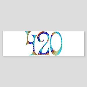 420 - #1 Bumper Sticker