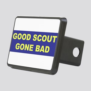 3-good scout blue copy Rectangular Hitch Cover