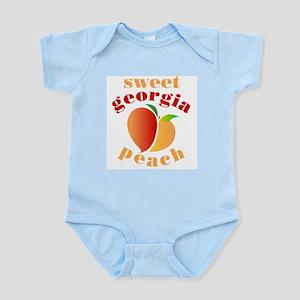 Sweet Georgia Peach Infant Bodysuit