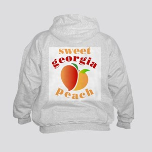 Sweet Georgia Peach Kids Hoodie