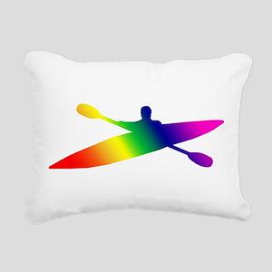 kayak2 Rectangular Canvas Pillow