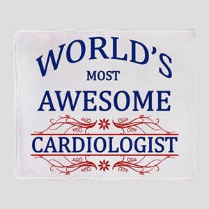 World's Most Awesome Cardiologist Throw Blanket