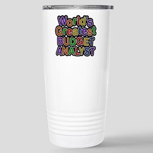 Worlds Greatest BUDGET ANALYST Mugs