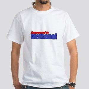 Empowered by Methanol White T-Shirt