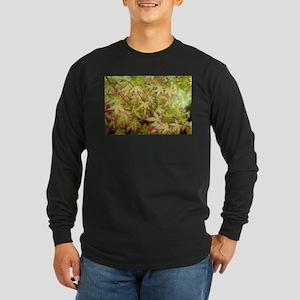 Japanese Maple Long Sleeve Dark T-Shirt