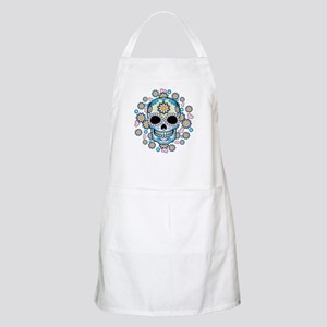Colorful Sugar Skull Apron