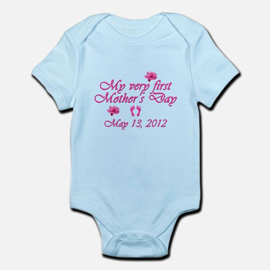 mothers day first2012 pink Body Suit