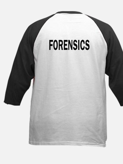 CSI/Forensics Kids Baseball Jersey