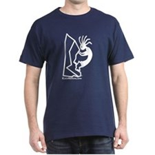 Kokopelli Rock Climber Dark T-Shirt