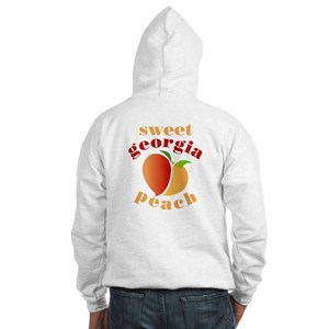 Sweet Ga Peach Hooded Sweatshirt