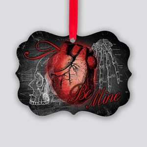 Gothic Love Be Mine Picture Ornament
