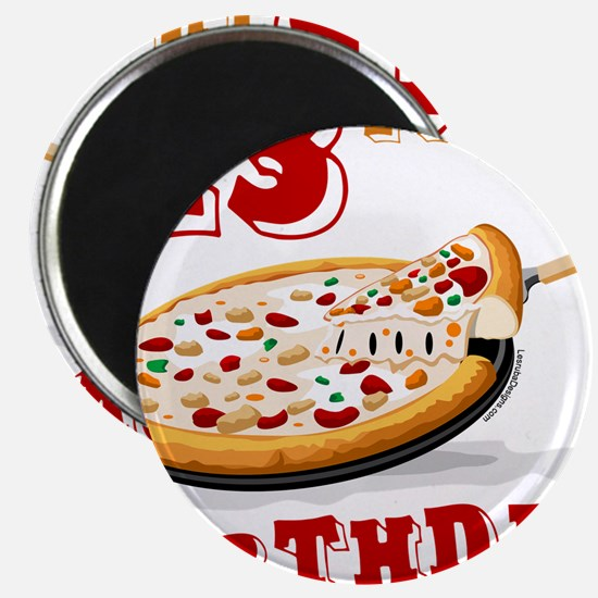 13th Birthday Pizza party Magnet