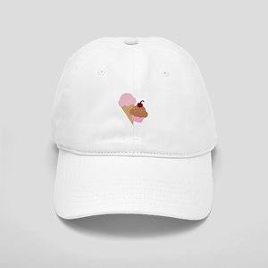 Sweet Treats Cupcake and Ice Cream Baseball Cap