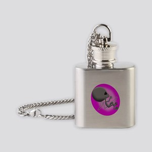 Alien Fetus Flask Necklace