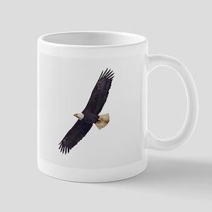 Bald Eagle In Flight Mug