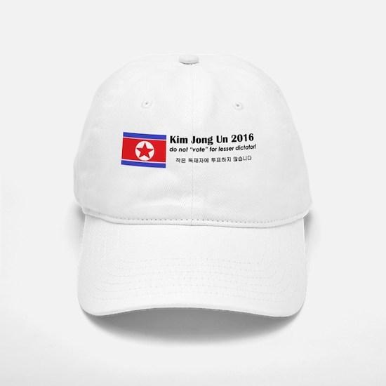 Kim Jong Un 2016 Baseball Baseball Baseball Cap