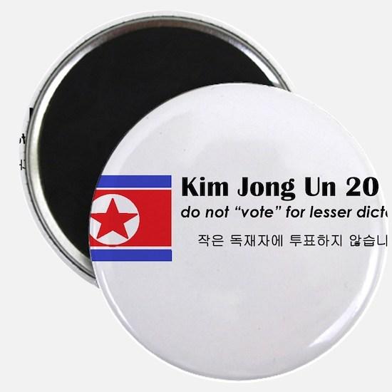Kim Jong Un 2016 Magnet