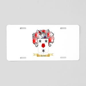 Collett Aluminum License Plate
