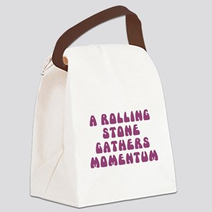 Rolling Stone Canvas Lunch Bag