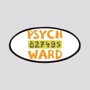 Psych Ward Inmate Patches