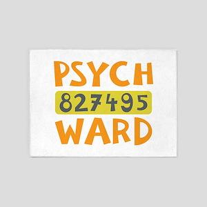 Psych Ward Inmate 5'x7'Area Rug
