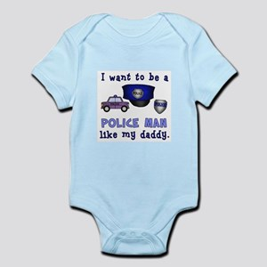 I WANT TO BE A POLICEMAN 2 Body Suit