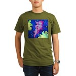 Disco Cupid Angel Graphic Organic Men's T-Shirt (d