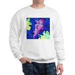 Disco Cupid Angel Graphic Sweatshirt