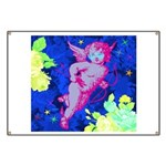 Disco Cupid Angel Graphic Banner