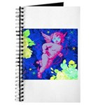Disco Cupid Angel Graphic Journal