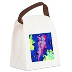 Disco Cupid Angel Graphic Canvas Lunch Bag