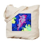 Disco Cupid Angel Graphic Tote Bag