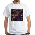 Science Pyramid Graphic White T-Shirt