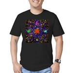 Science Pyramid Graphic Men's Fitted T-Shirt (dark