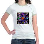 Science Pyramid Graphic Jr. Ringer T-Shirt