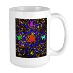 Science Pyramid Graphic Large Mug