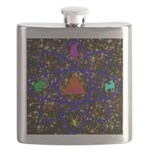 Science Pyramid Graphic Flask