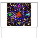 Science Pyramid Graphic Yard Sign