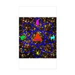 Science Pyramid Graphic Sticker (Rectangle 50 pk)