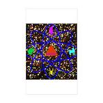 Science Pyramid Graphic Sticker (Rectangle 50 pk)